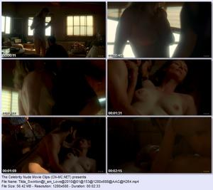 Upcoming Nude Scenes - Video Clips of Tilda Swinton from Io sono ...