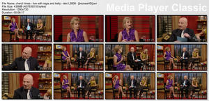 "CHERYL HINES - ""LIVE! with Regis & Kelly"" - (December 1, 2009) - *SEXY THIGHS*"