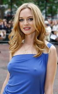 Heather Graham hot cute see through tight dress nipple visible pokies